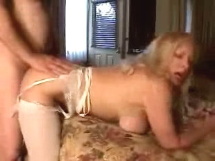 Busty fem hit from behind