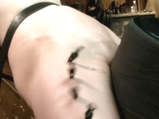 Alani Pi - Head Shaved Slut Live Show - Part 4