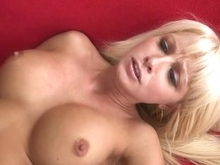 Blonde with big tits Rikki Six loves dick in her pussy