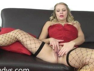 Abi's So Horny She Can't Help But Masturbate!