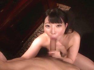 Horny Japanese chick Ai Uehara in Incredible Rimming, Gangbang JAV video
