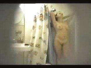 Preity Zinta takin shower!