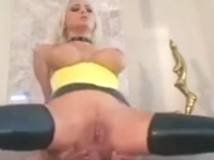 Fucking in latex gloves stilettoes and nylons