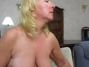 Saggy granny bonks