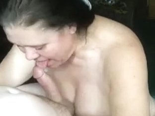 aged lady knows how to give a valuable fellatio