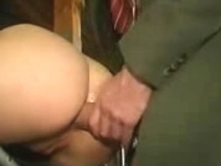 Perverted Russian Luba gets slammed in the butt