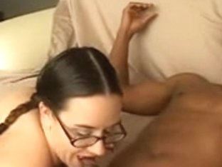 Pigtails and glasses on this white mother I'd like to fuck