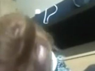 Redhead librarian dormroom engulf