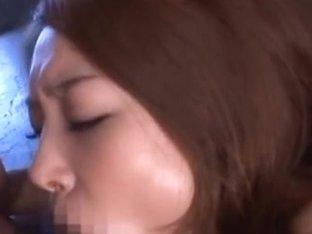 Sarasa Hara Hot Asian model has sex and gets cum facial
