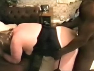 My aged large agreeable woman female-dominant-doxy gets her dirty cleft stuffed with BBC