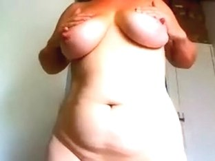 I'm fucking a sex toy in my sexy big tit amateurs vid