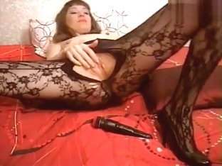 Sensualvicci in black pantyhose