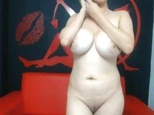 My amateur big natural tits set loose on a webcam
