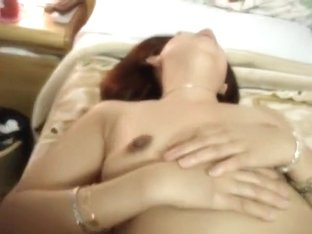 Chinese Wife BJ, Gag and anal fingering