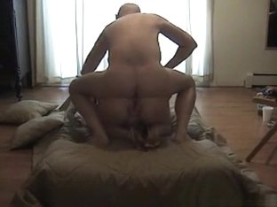 Granny gets fucked in the ass