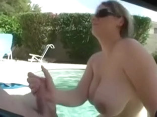 Big tit white doxy takes penis in her face hole and in between her milk shakes