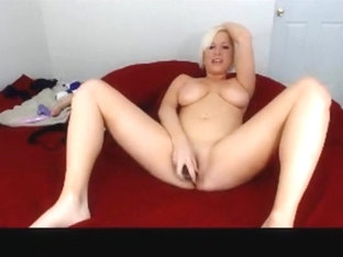 Hot blonde babe has no gag reflex