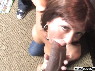 Son witness how mom Desi Foxx takes two BBCs