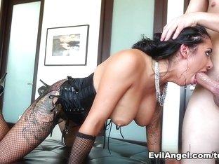 Incredible pornstars John Strong, Alexa Aimes, Jessy Jones in Exotic Big Tits, Threesomes sex video