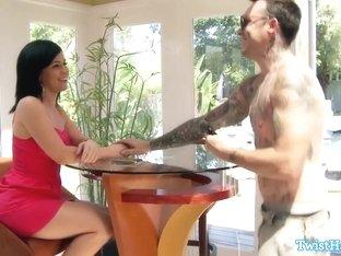 Horny pornstar in Crazy Facial, DP porn scene