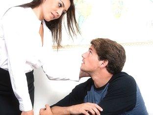 Raylene & Tyler Nixon in My First Sex Teacher