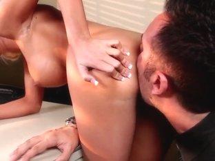Keiran Lee paves his way through Rikki Six ass