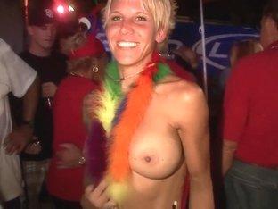 Crazy pornstar in amazing blonde, college adult clip