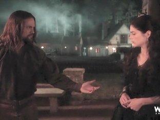 Janet Montgomery & Azure Parsons - Salem S01E01