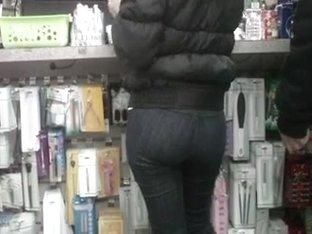 Skinny Rican Bubble Butt Booty(pocketless jeans)