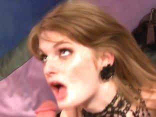 Incredible pornstar Faye Reagan in fabulous redhead, lingerie adult movie