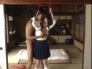 Exotic Japanese chick Rio Kurusu in Amazing BDSM, Compilation JAV movie