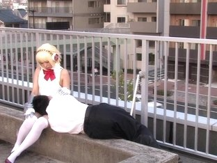 asian cosplay babe pussypounded missionary