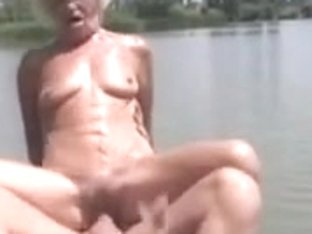 Granny Sex at The River by TROC