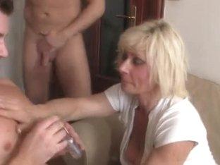 Aged widow enjoys 2 new juvenile weenies