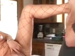 Sexy foot with food domination