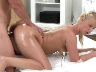 Horny petite babe gets pounded by guy with big hard cock