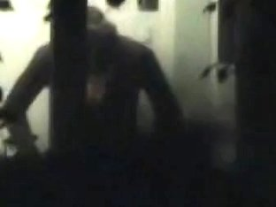 Undressing t-shirt is main goal of the voyeur guy