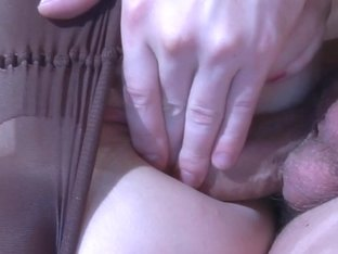 Anal-Pantyhose Video: Hetty and Claudius
