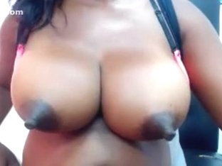 Homemade webcam video with me busty ebony bitch