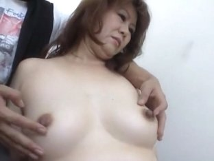 Exotic Japanese model in Incredible Wife, Cunnilingus JAV clip