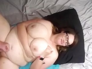 Master851 bbw wife fucked and cum on face tits and belly