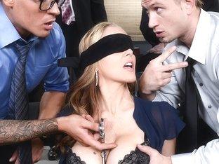 80 s porn blindfold blowjob