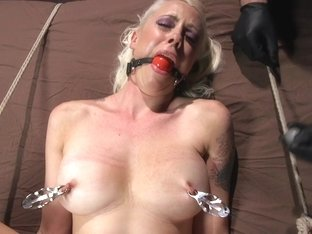 Lorelei Lee  The Pope in Lorelei Lee Submits In Brutal Bondage With Grueling Torment - HogTied