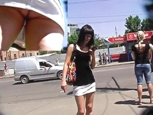 How to make upskirt vids on bus stops