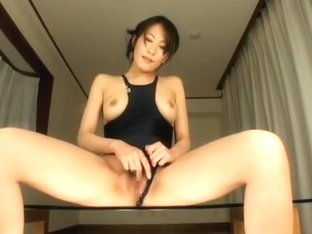 Exotic Japanese slut Aoki Misora in Incredible Fingering, Gangbang JAV video