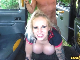 Busty Dirty Talking Squirting Milf - FakeTaxi