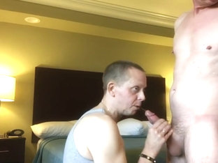 My hot buddy Stevo Cook gives me his load and we chatterbate
