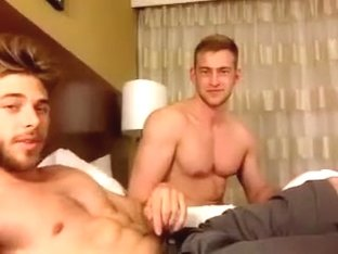 Amazing amateur gay scene with Webcam, Hunks scenes