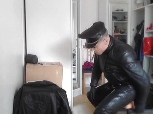 leather biker fuck