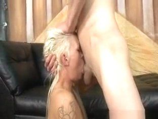 Incredible Choking Mouth Fuck Of Blonde